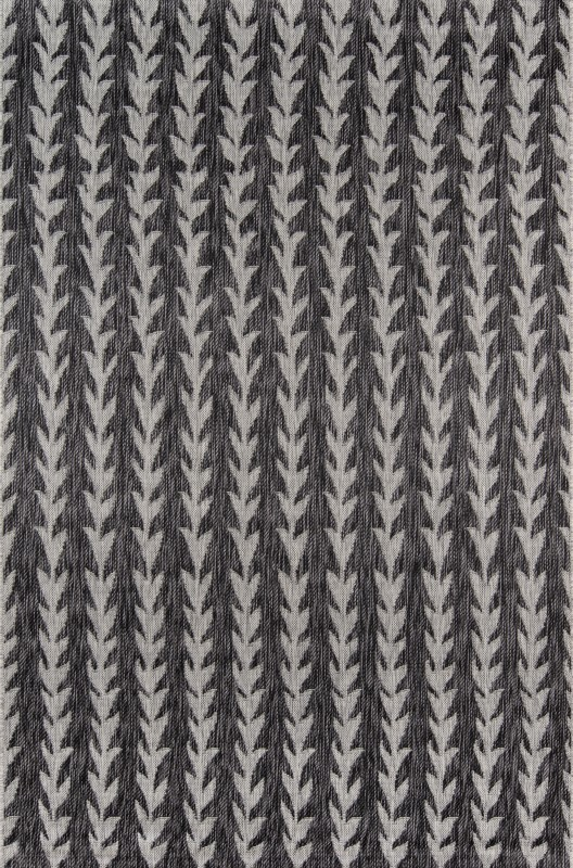 Novogratz Villa Machine Made Charcoal Area Rugs