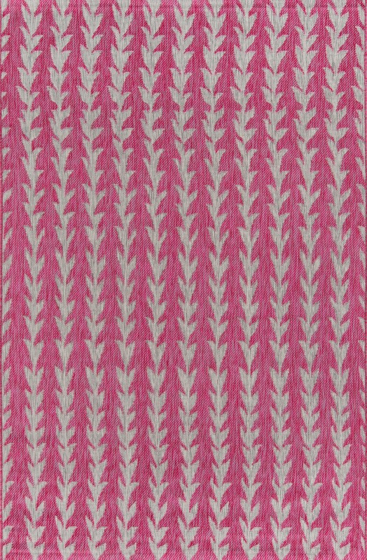 Novogratz Villa Machine Made Fuschia Area Rugs