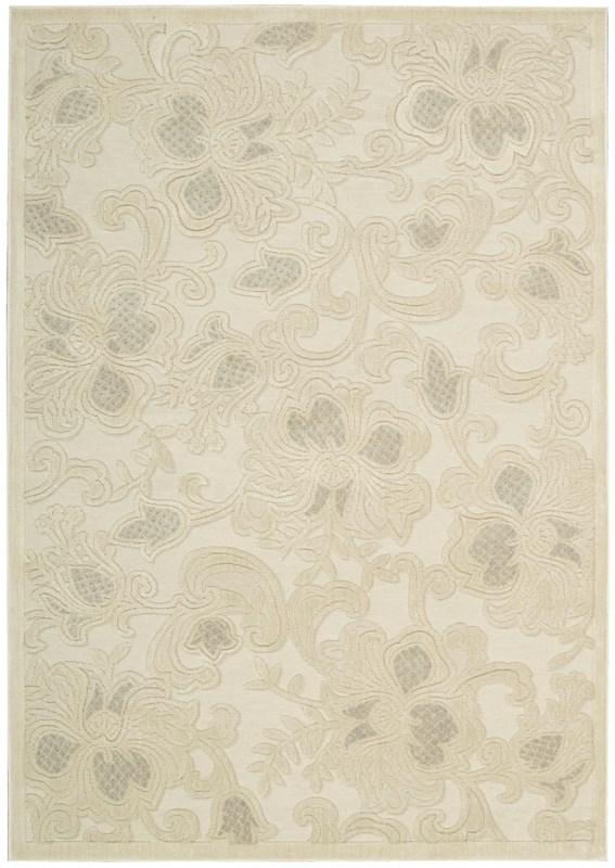 Graphic Illusions  Cream Area Rugs