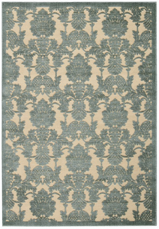 Graphic Illusions  Teal Area Rugs