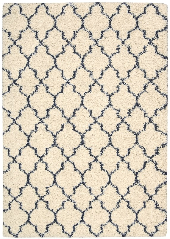 Amore  Ivory/blue Area Rugs