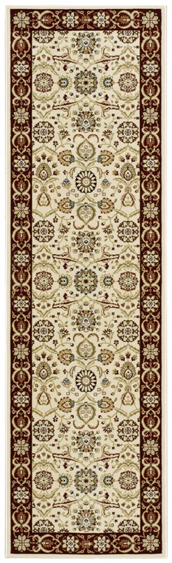 Persian Crown  Cream Area Rugs