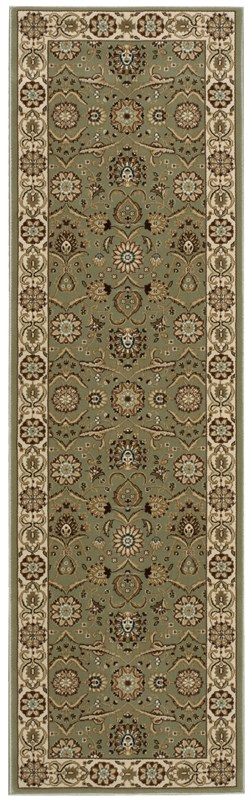 Persian Crown  Green Area Rugs