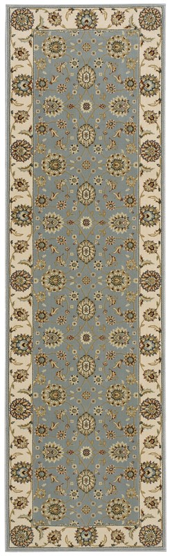 Persian Crown  Blue Area Rugs