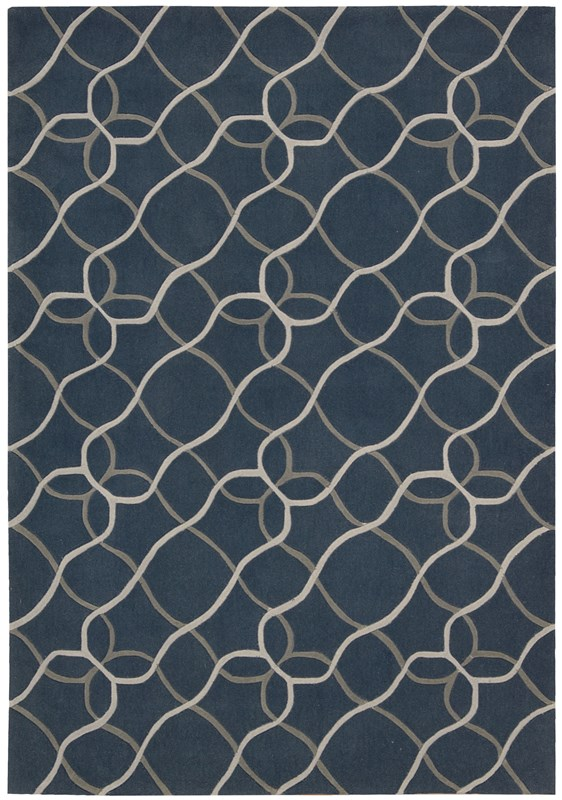 Contour  Denim Area Rugs
