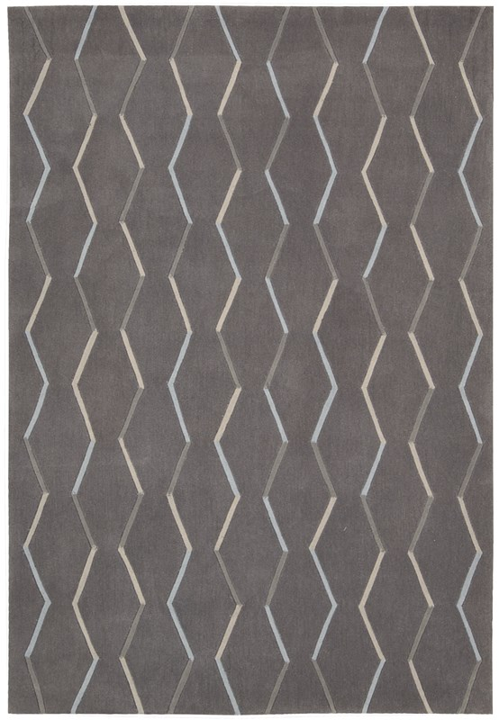 Contour  Charcoal Area Rugs