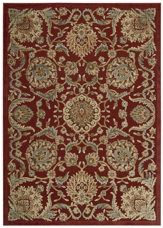 Graphic Illusions  Red Area Rugs