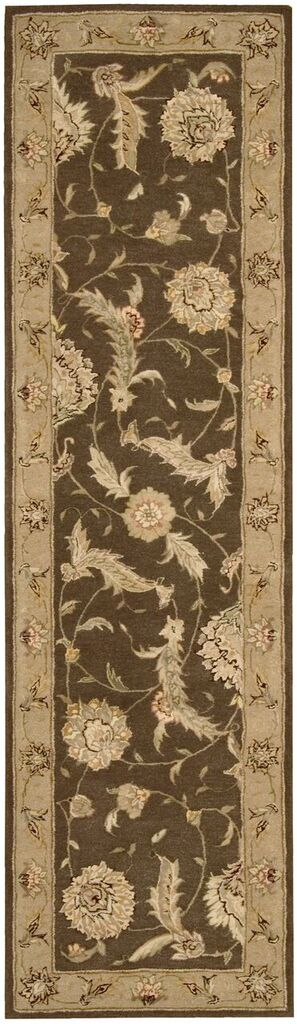 Nourison 3000 Hand Tufted Brown Area Rugs