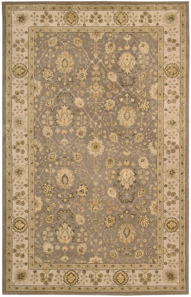 Nourison 3000 Hand Tufted Taupe Area Rugs