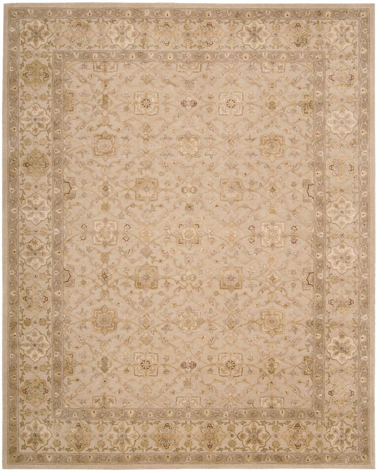 Nourison 3000 Hand Tufted Beige Area Rugs