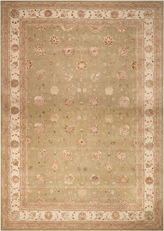 Nourison 3000 Hand Tufted Light Green Area Rugs