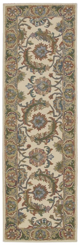 India House  Ivory Gold Area Rugs