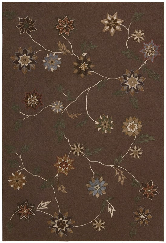 Contour  Brown Area Rugs
