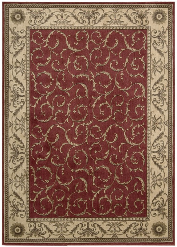 Somerset  Red Area Rugs