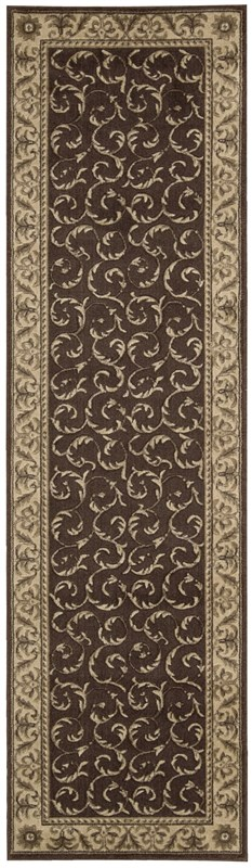 Somerset  Brown Area Rugs