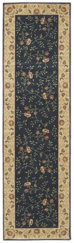 Somerset  Navy Area Rugs