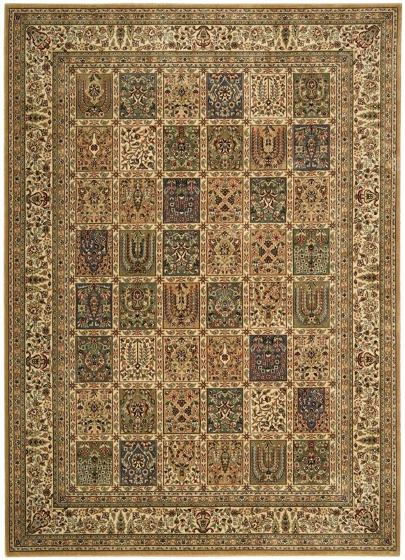 Persian Arts Machine Woven Multicolor Area Rugs