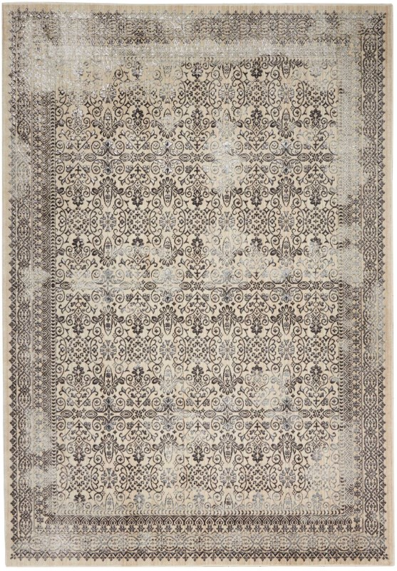 Silver Screen Kathy Ireland Worldwide Grey Area Rugs