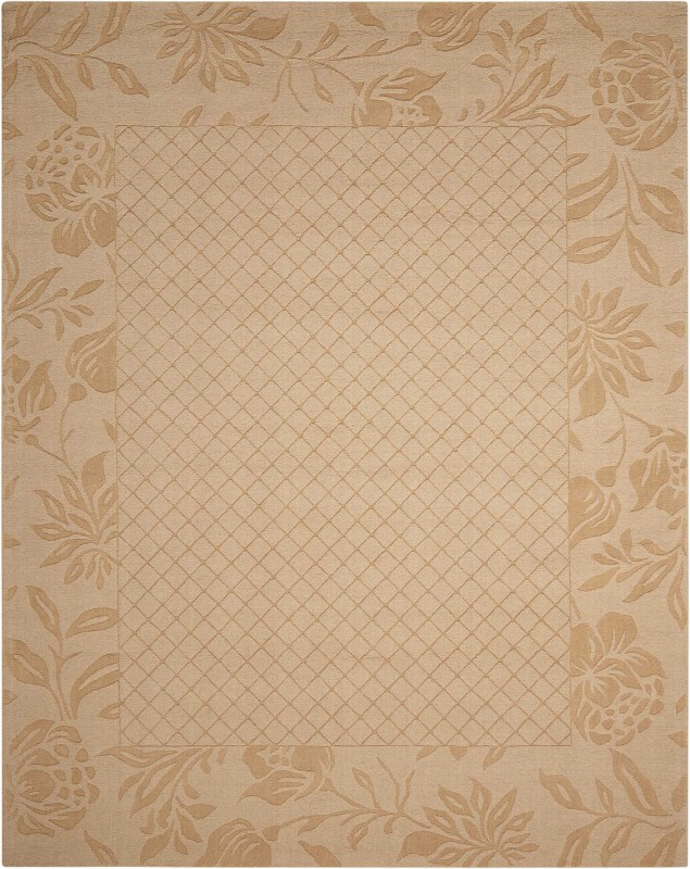 Barcelona Hand Tufted Light Gold Area Rugs