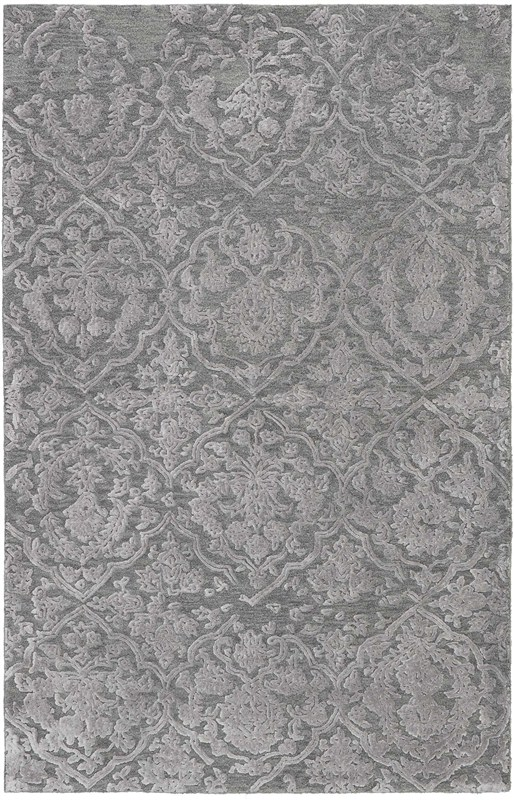 Opaline Hand Tufted Charcoal/Silver Area Rugs
