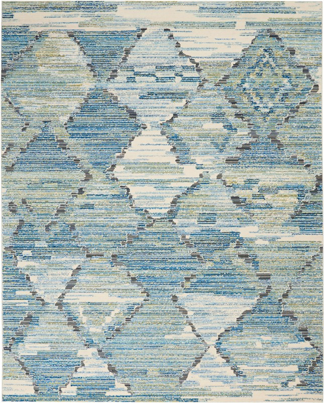 Butera Loom Woven Storm Area Rugs