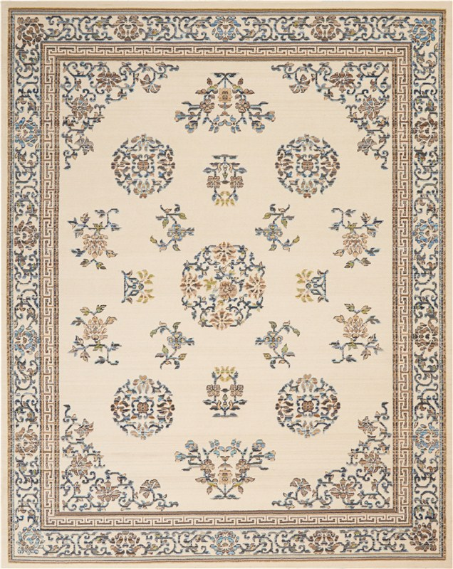Butera Loom Woven Ivory Area Rugs