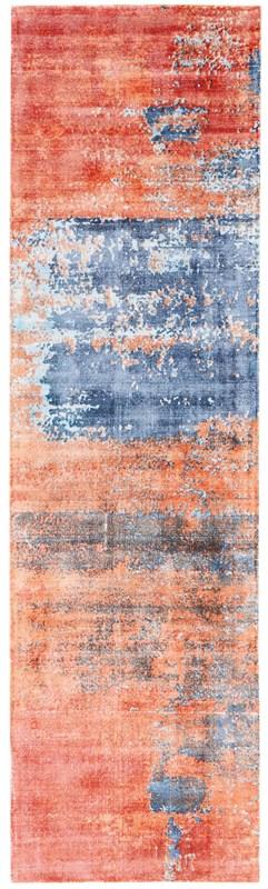 Safari Dreams Handmade Blue/Brick Area Rugs