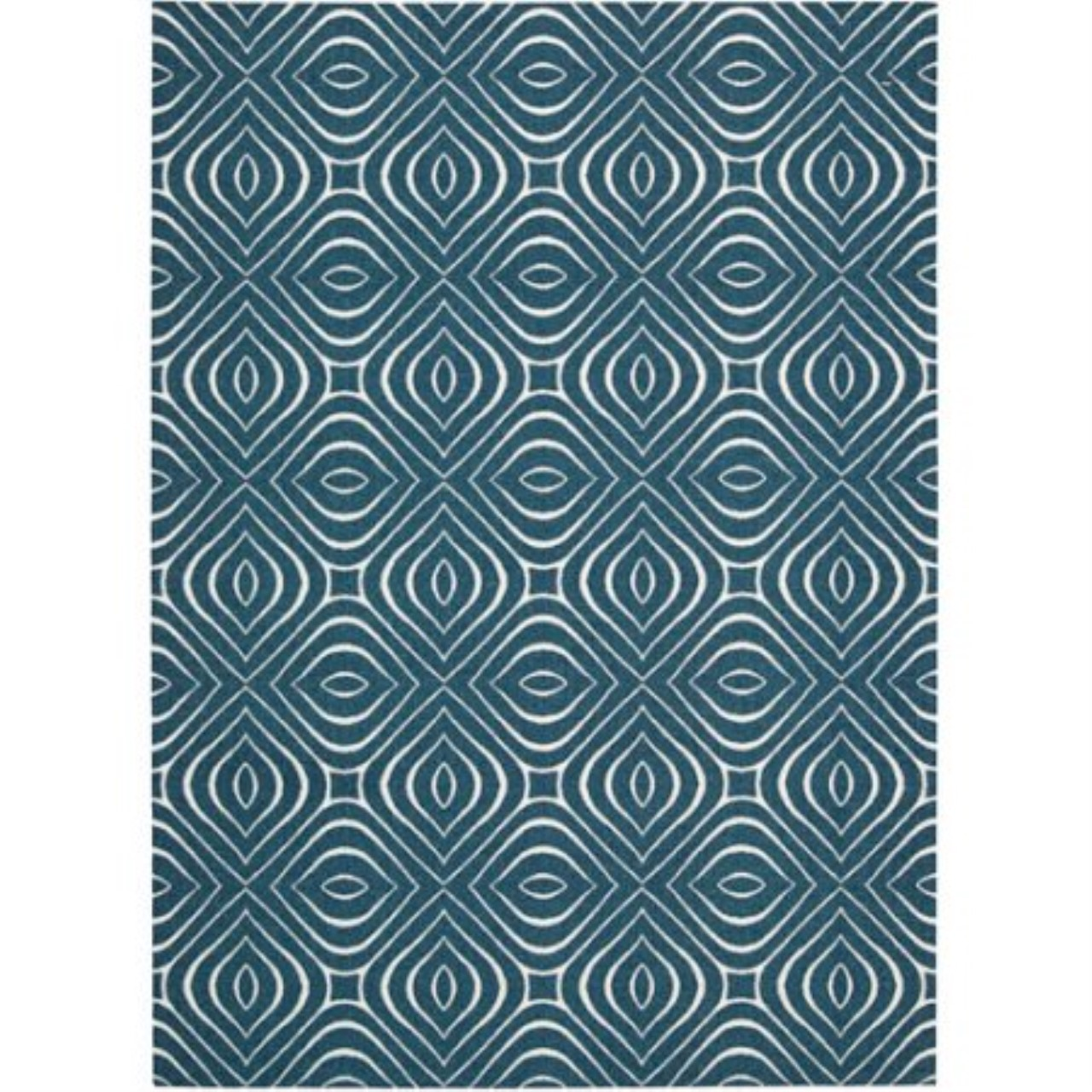 Enhance Machine Printed Iv/grey Area Rugs