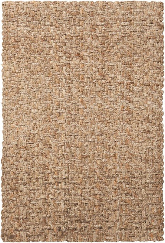Basketweave Hand Woven Silver Area Rugs