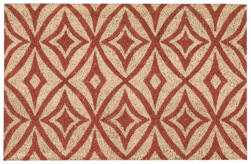 Wave Greetings Tufted Henna Area Rugs