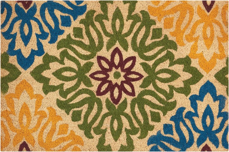 Wave Greetings Tufted Green Area Rugs