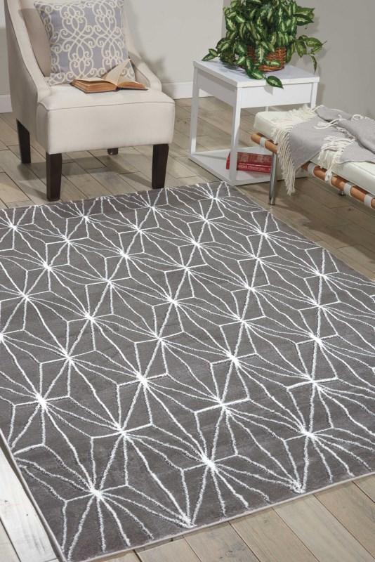 Studio Machine Woven Grey Area Rugs
