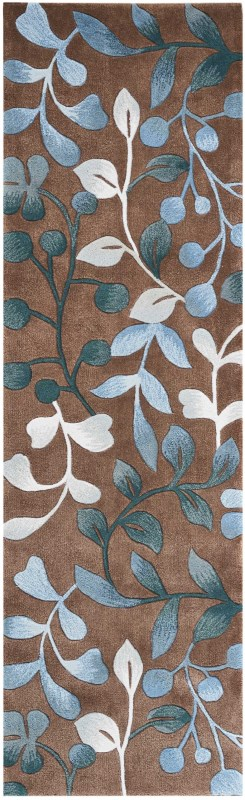 Contour Hand Tufted Mocha Area Rugs