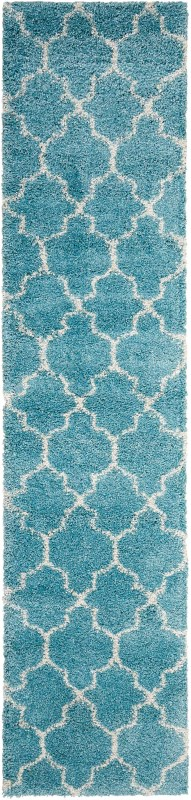 Amore Machine Woven Aqua Area Rugs