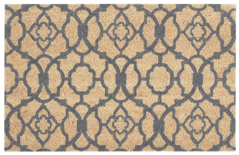 Wave Greetings Tufted Grey Area Rugs