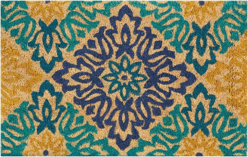 Wave Greetings Tufted Aqua Area Rugs