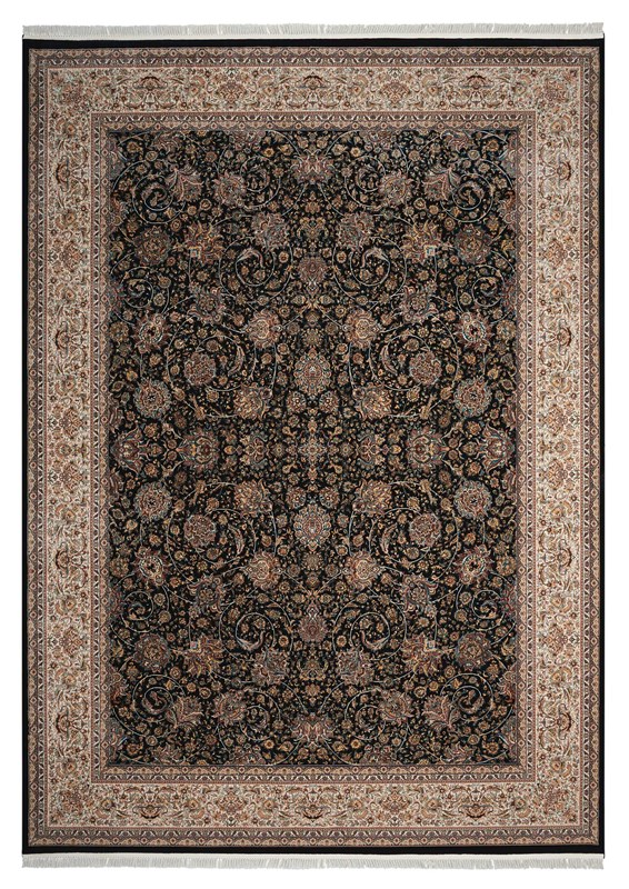 Persian Palace Machine Woven Cream Area Rugs