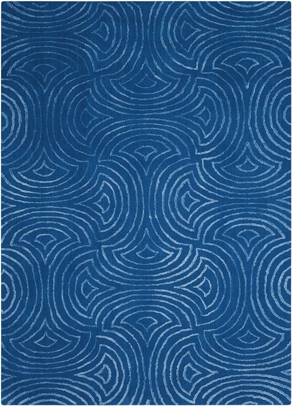 Vita Hand Tufted Blue Area Rugs
