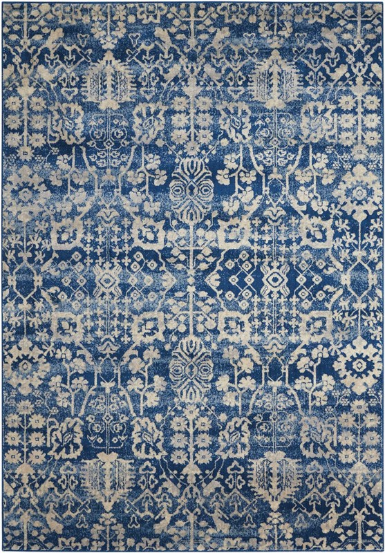 Somerset Machine Woven Navy Area Rugs