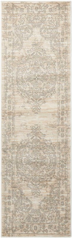 Euphoria Machine Woven Bone Area Rugs