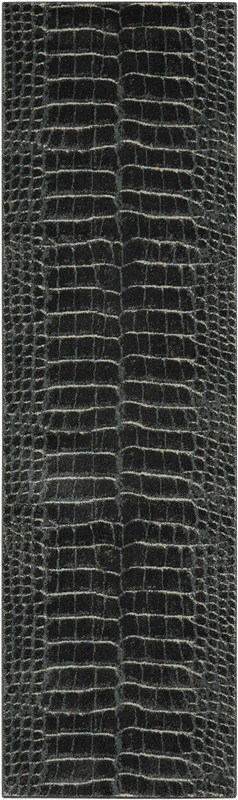 Maxell Machine Woven Charcoal Area Rugs