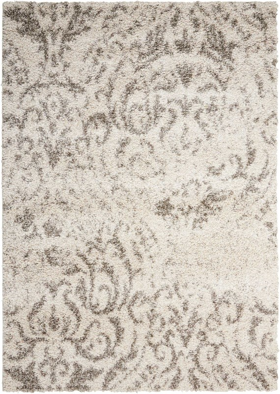 Brisbane Machine Woven Cream Area Rugs