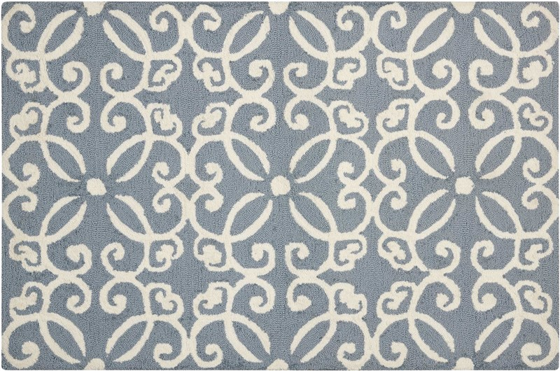Decor Hand Tufted Light Blue Area Rugs