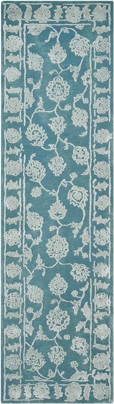 Opaline Hand Tufted Cha/bl Area Rugs