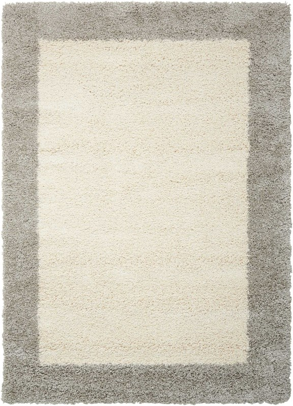 Amore Machine Woven Ivory/silver Area Rugs