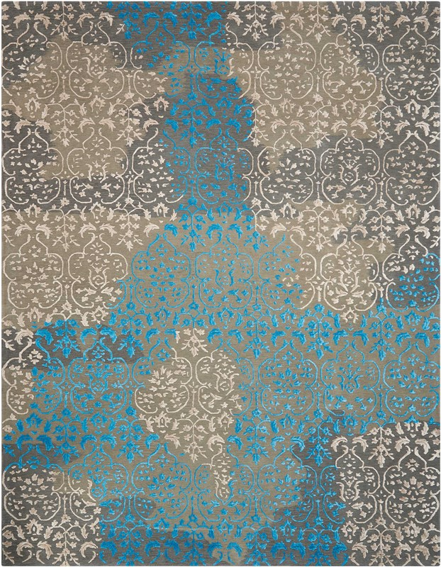 Opaline Hand Tufted Charcoal Area Rugs