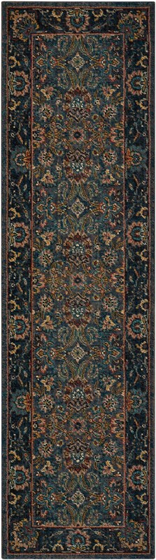 Nourison 2020 Machine Woven Navy Area Rugs