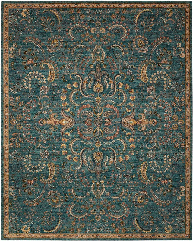 Nourison 2020 Machine Woven Brick Area Rugs