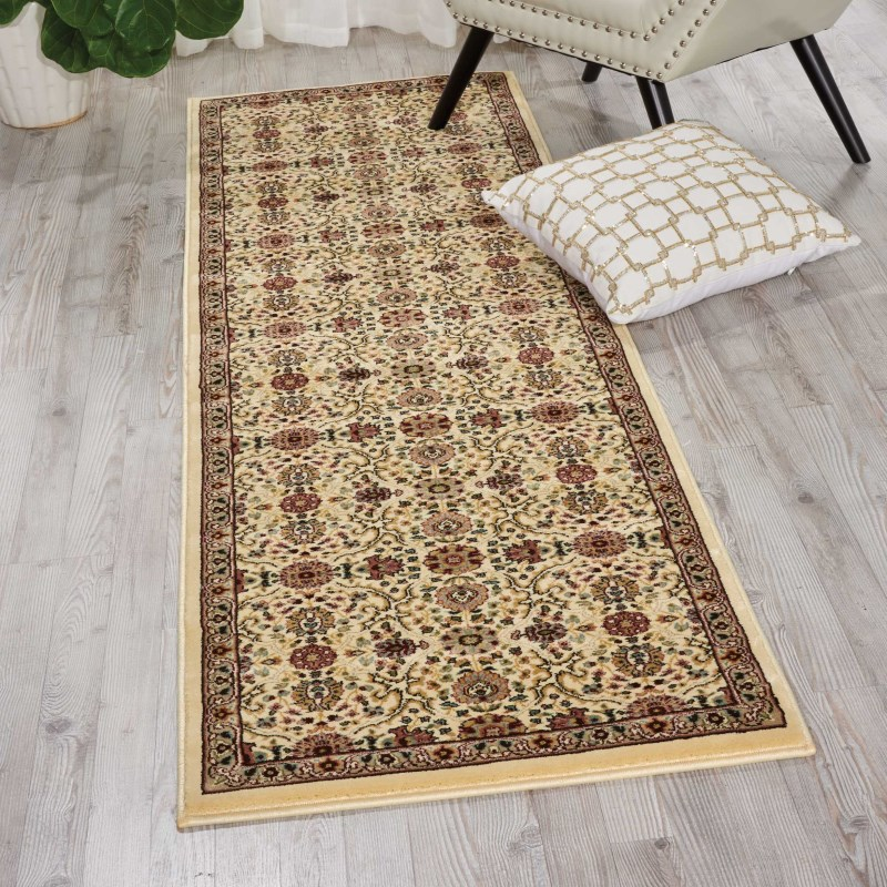 Antiquities Machine Woven Ivory Area Rugs