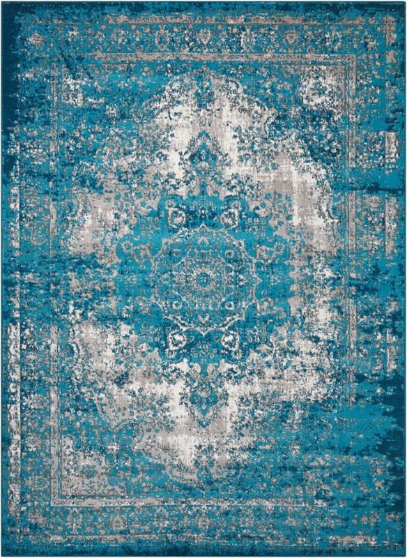 Aria Machine Woven Charcoal Area Rugs
